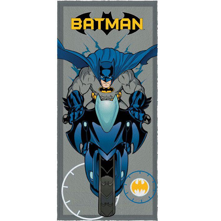 Toalha Banho Infantil Felpuda Batman Lepper Oficial #4