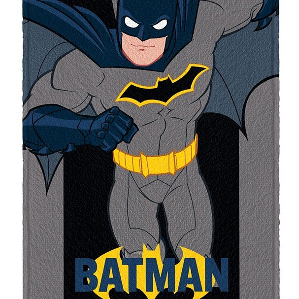 Toalha Banho Infantil Felpuda Batman Lepper Oficial #5