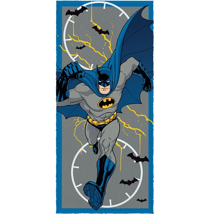 Toalha Banho Infantil Felpuda Lepper Batman Oficial #3