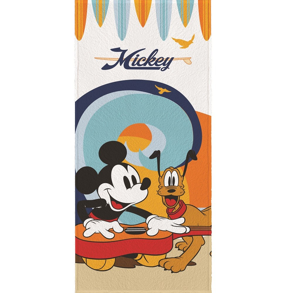 Toalha Banho Infantil Felpuda Mickey Lepper Oficial #1