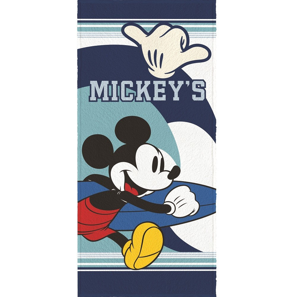 Toalha Banho Infantil Felpuda Mickey Lepper Oficial #3