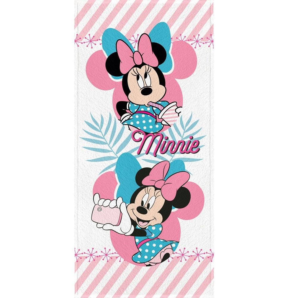 Toalha Banho Infantil Felpuda Minnie Lepper Oficial #1