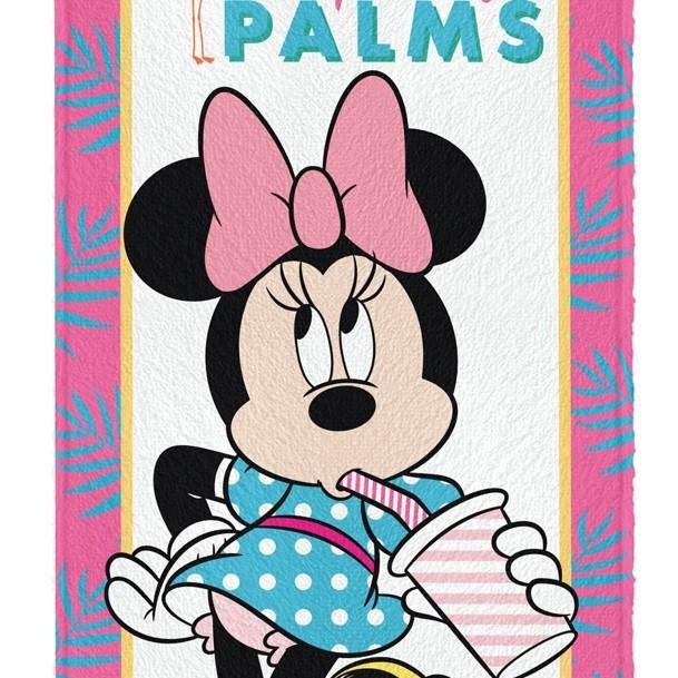 Toalha Banho Infantil Felpuda Minnie Lepper Oficial #4