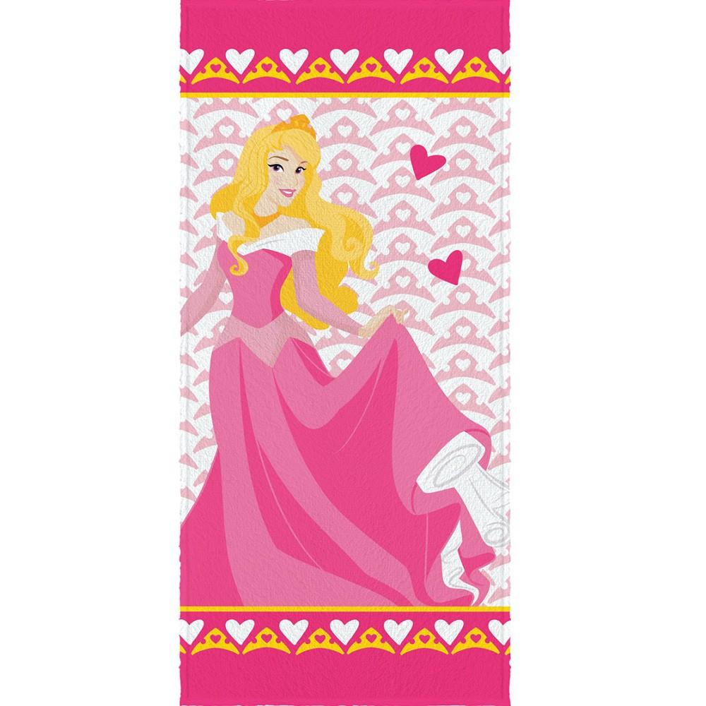 Toalha Banho Infantil Felpuda Princesa Aurora Lepper Oficial