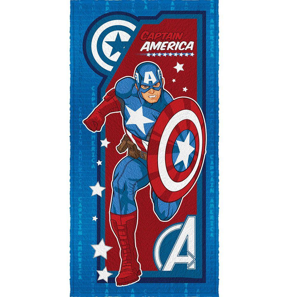 Toalha Banho Infantil Felpuda Vingadores Avengers Lepper #1