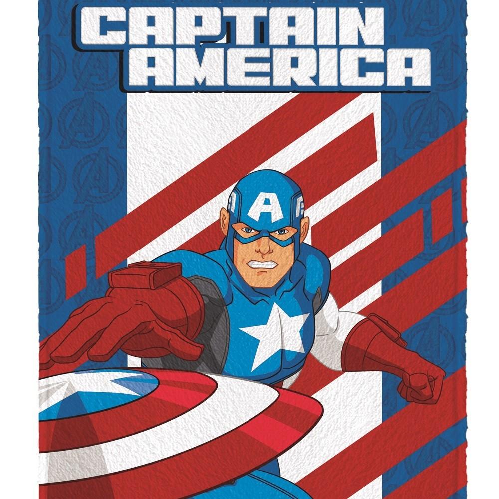 Toalha Banho Infantil Felpuda Vingadores Avengers Lepper #2