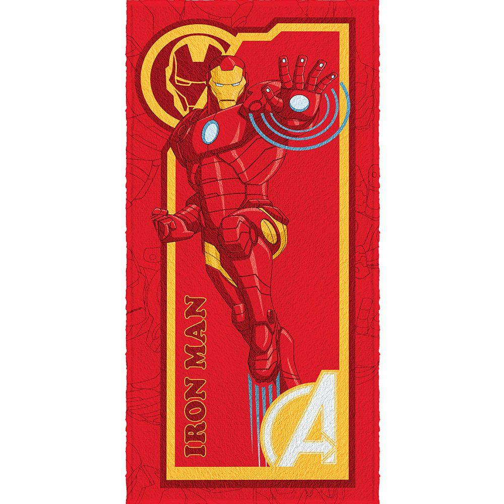Toalha Banho Infantil Felpuda Vingadores Avengers Lepper #3