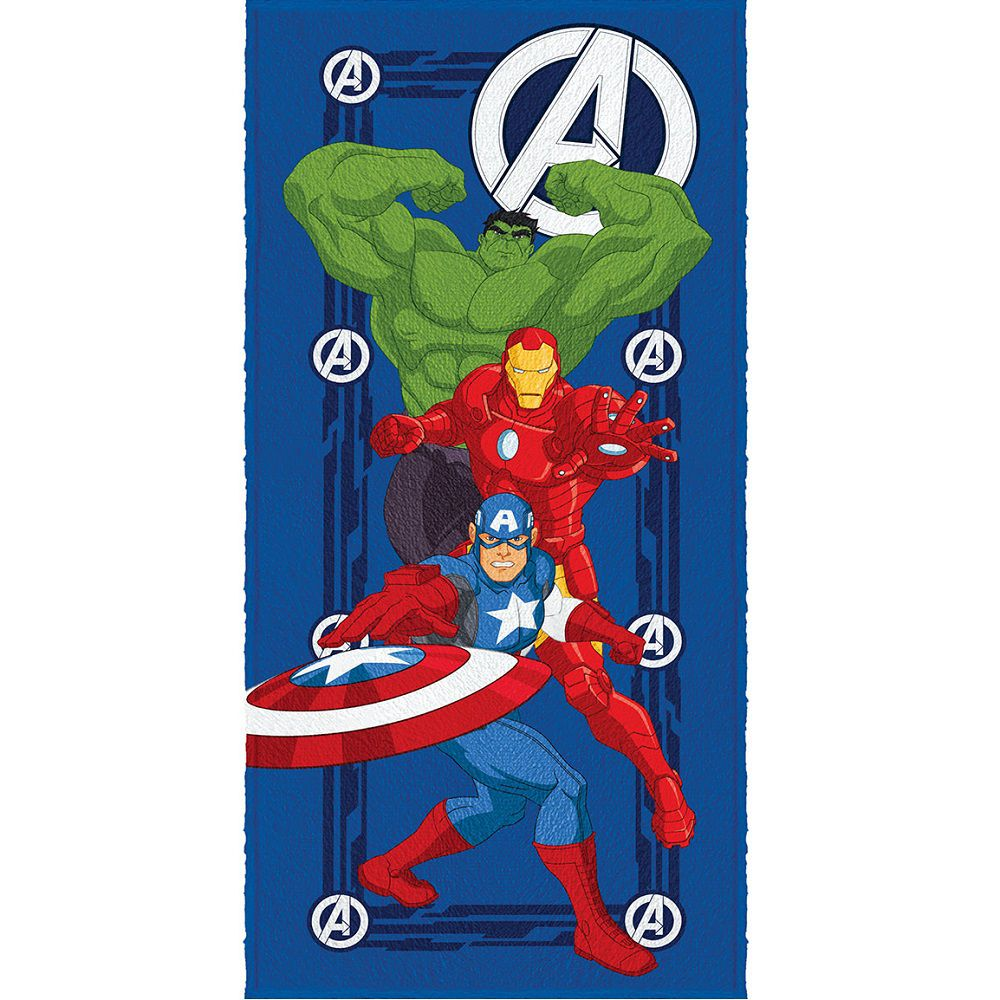 Toalha Banho Infantil Felpuda Vingadores Avengers Lepper #5