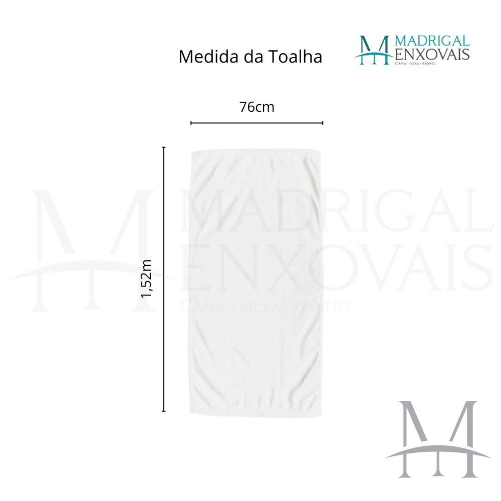 Toalha De Banho E Praia Dohler 0,76x1,52m Bella Aveludada