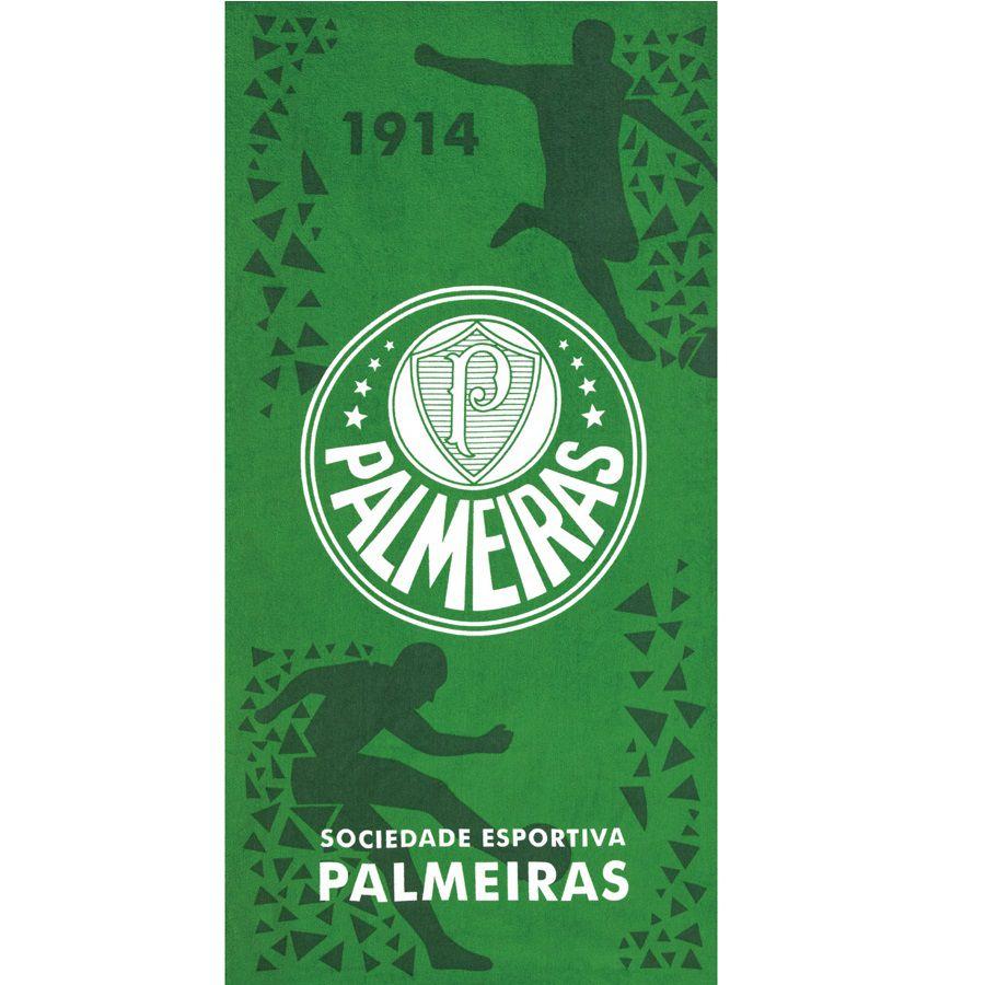 Toalha De Banho E Praia Palmeiras 05 Aveludada 0,76x1,52m Dohler