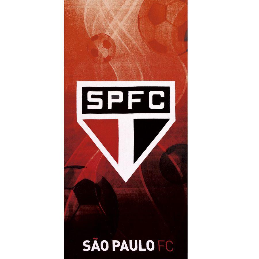 Toalha De Banho E Praia São Paulo Aveludada 0,76x1,52m Dohler