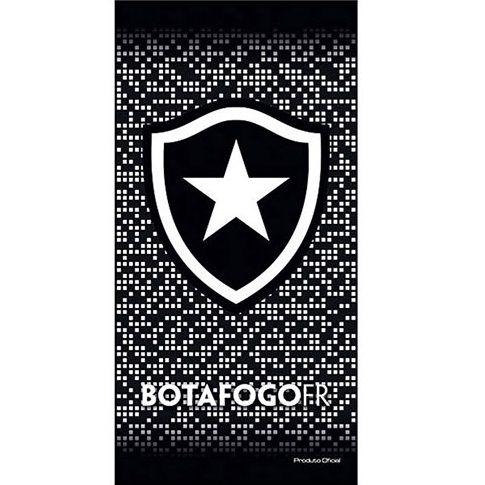 Toalha De Banho E Praia Time Aveludada Botafogo Oficial