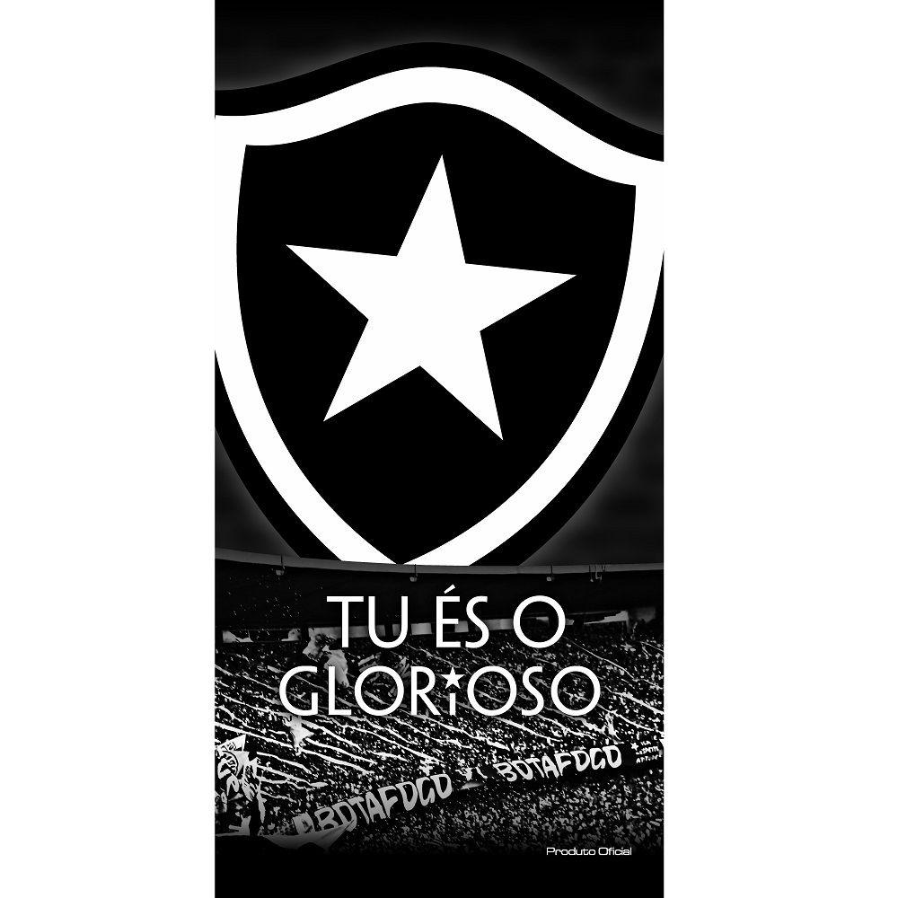 Toalha De Banho E Praia Time Aveludada Botafogo Torcida Oficial