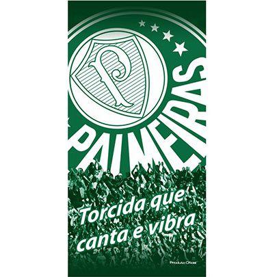 Toalha De Banho E Praia Time Aveludada Palmeiras Oficial Torcida