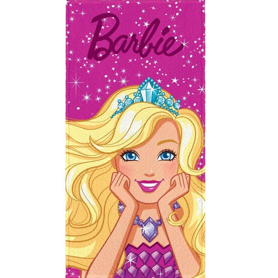 Toalha De Banho Infantil Felpuda Barbie R. Mágicos Lepper #4