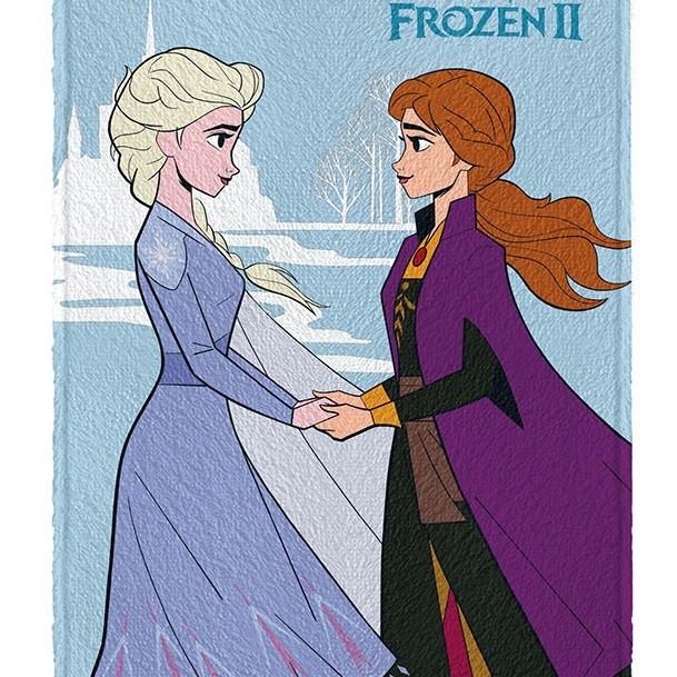 Toalha De Banho Infantil Felpuda Frozen 2 Lepper Oficial #4