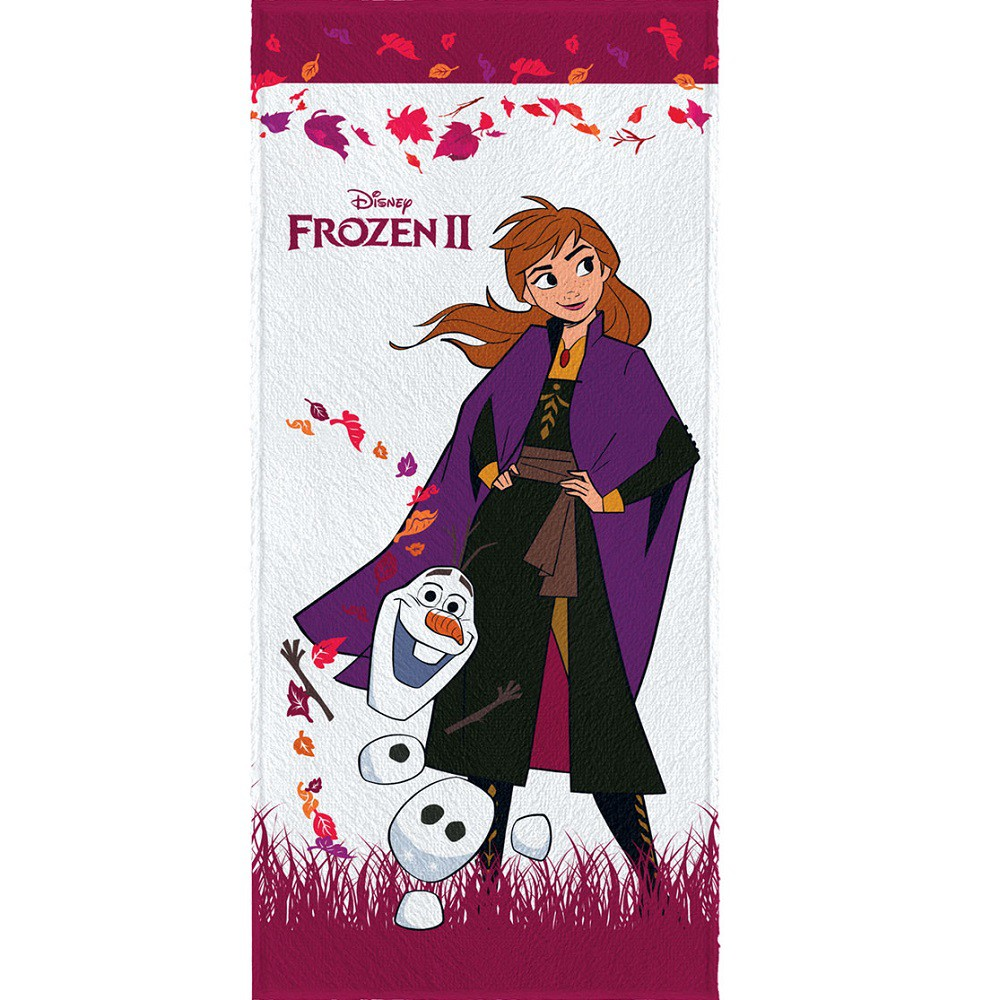 Toalha De Banho Infantil Felpuda Frozen 2 Lepper Oficial #5