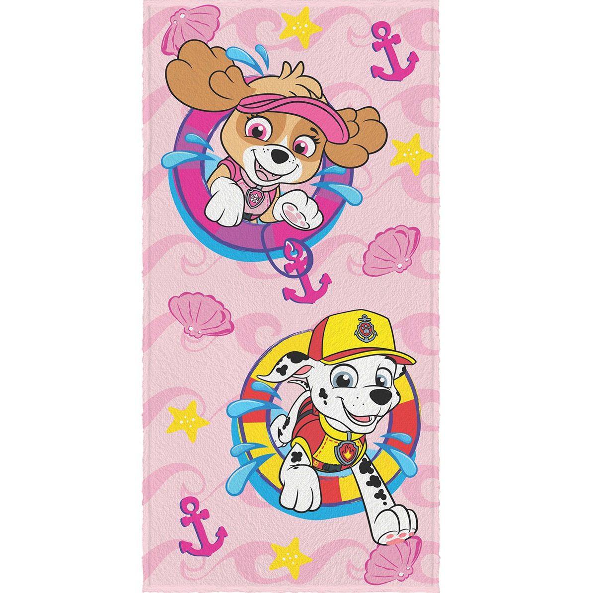 Toalha De Banho Infantil Felpuda Patrulha Canina Lepper #1