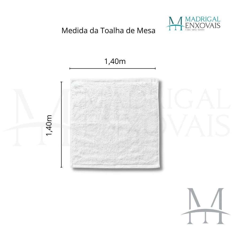 Toalha De Mesa Dohler Clean Limpa Fácil Athenas 1,40x1,40m Esther