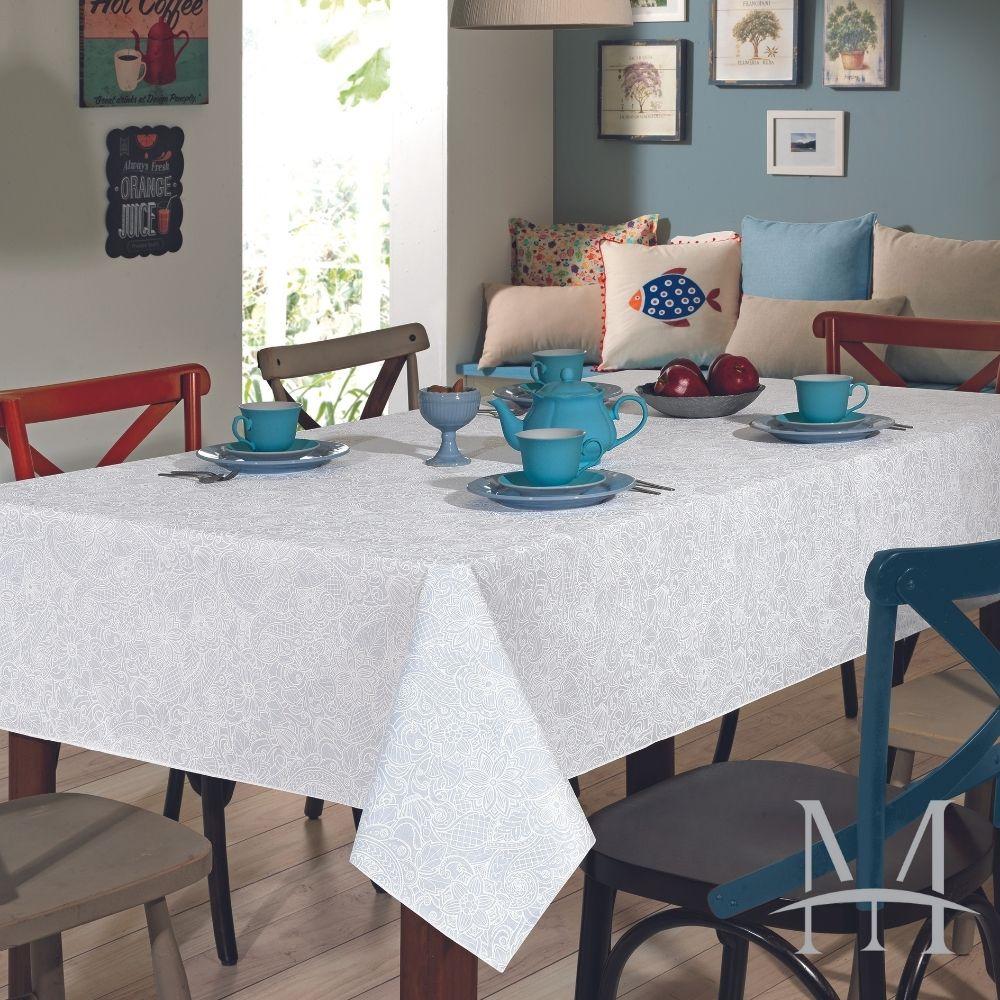 Toalha De Mesa Dohler Clean Limpa Fácil Athenas 1,40x2,10m Edite