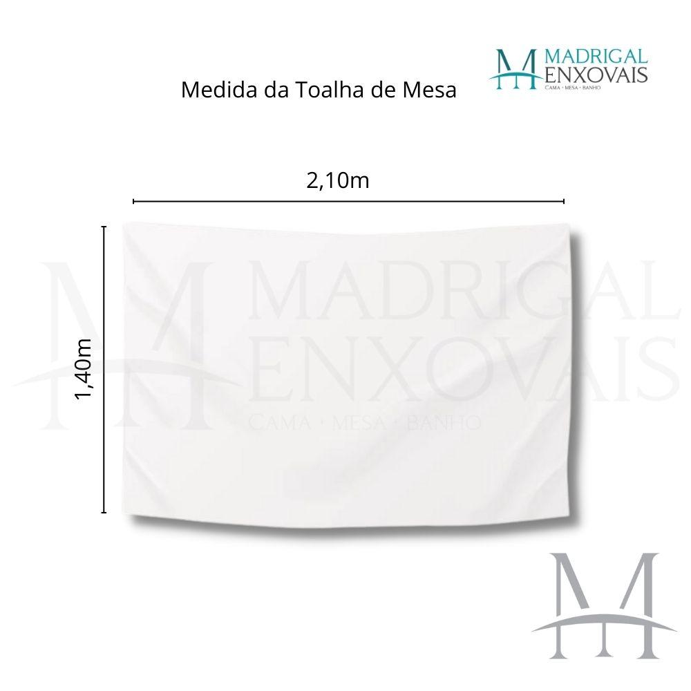 Toalha De Mesa Dohler Clean Limpa Fácil Athenas 1,40x2,10m Elma