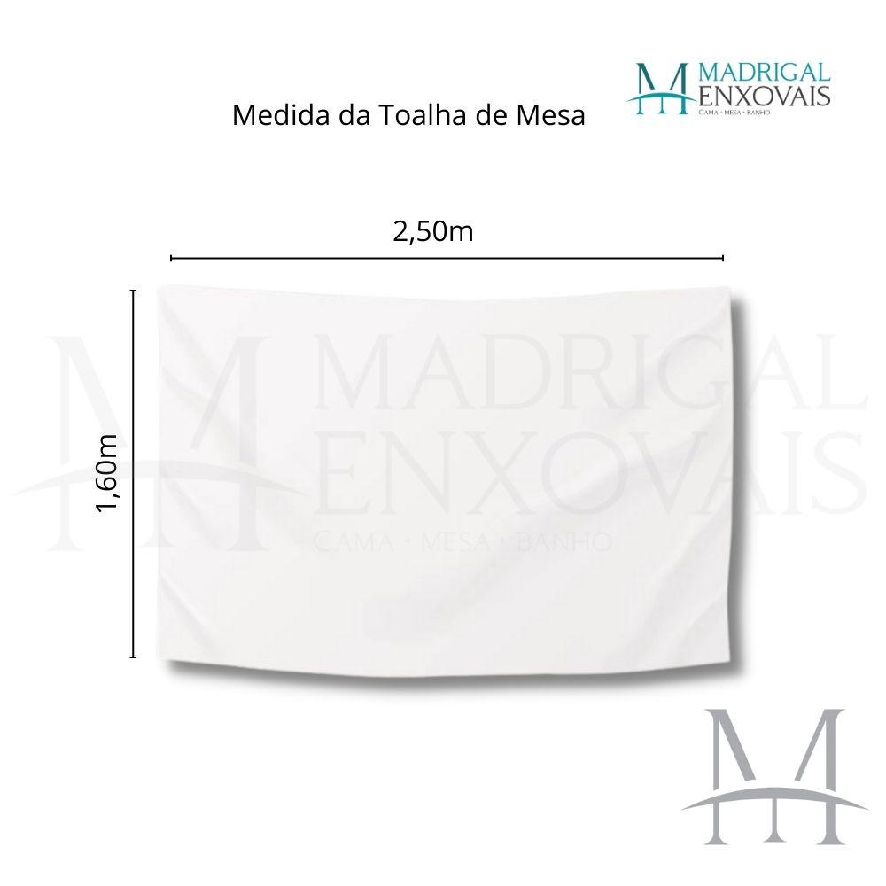 Toalha De Mesa Dohler Clean Limpa Fácil Athenas 1,60x2,50m Esther