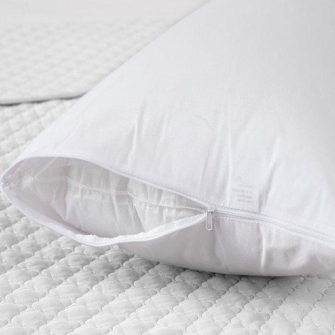 Travesseiro Corpo 0,50x1,50m com fronha Percal 100% Algodão