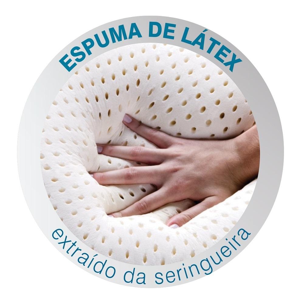 Travesseiro Duoflex Natural Látex Baixo 50x70x14cm LN1108