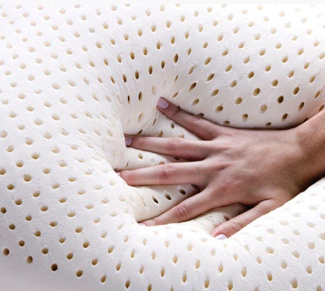 Travesseiro Duoflex Real Látex Capa Dry Fresh 50x70x14cm
