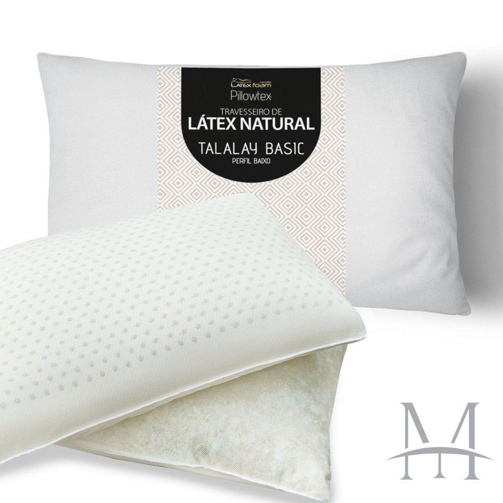 Travesseiro Látex Natural Talalay Basic Latexfoam Baixo 13cm