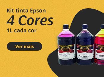 Kit tinta epson 4 cores