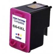 CART. TINTA HP 664 XL COLOR COMPATIVEL