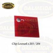 CHIP LEXMARK X 203 / 204