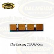 CHIP SAMSUNG CLP 315/ CYAN
