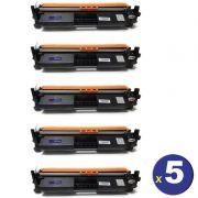 COMBO 5 CART DE TONER HP CF217 -COMPATÍVEL  *SEM CHIP