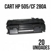 TONER HP 505 / CF 280 A COMPATIVEL - COM 20 UNIDADES