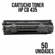COMBO CARTUCHO TONER HP CB 435/436/CE285/278 UNIVERSAL COM 50 UNIDADES