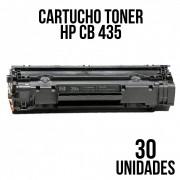 COMBO DE CARTUCHO TONER COMPATÍVEL HP 435 / 436 / 285 / 278  - COM 30 UNIDADES