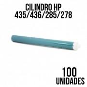 COMBO DE CILINDRO HP 435A/436A/285/278/283  HP P1005/CE278/285 - COM 100 UNIDADES