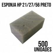 COMBO DE ESPONJA HP 21/27/56 PRETO - COM 500 UNIDADES
