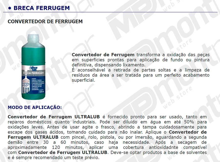 BRECA FERRUGEM 500 ML