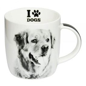 CANECA PORCELANA LOVE DOGS
