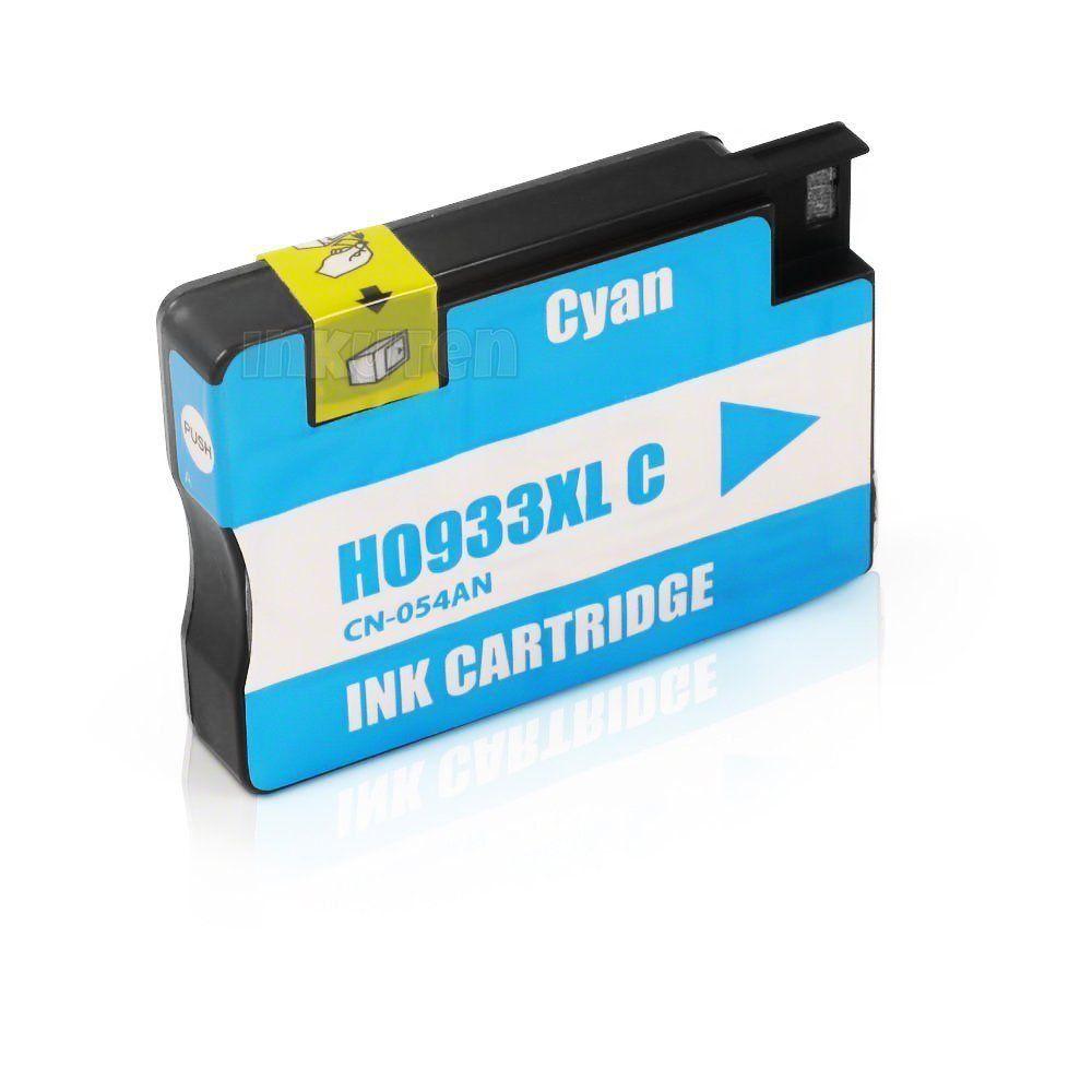 CART. TINTA HP 933 XL CYAN COMPATÍVEL
