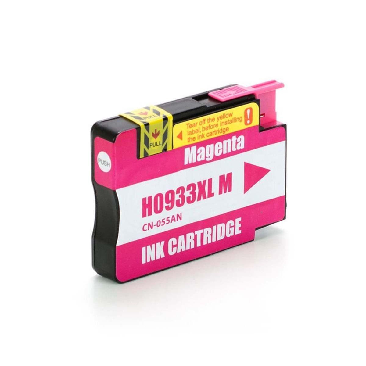 CART. TINTA HP 933 XL MAGENTA COMPATÍVEL