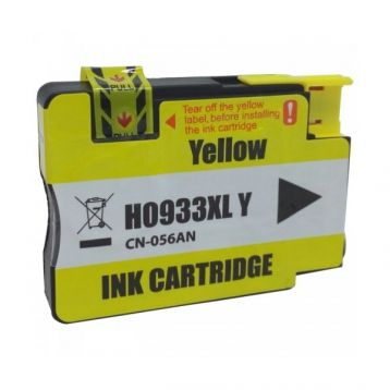 Cartucho HP 933XL Amarelo para Officejet 7610 7110 Compativel