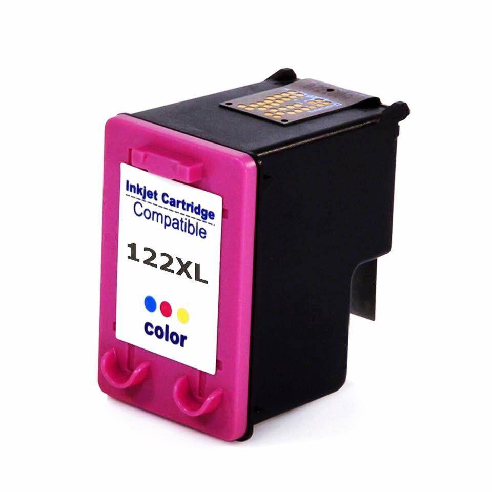 Cartucho HP 122XL 122 CH564HB Colorido 18ml COMPATÍVEL