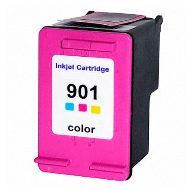 Cartucho  HP 901 CC656AB Colorido COMPATÍVEL | J4580 J4680 J4660 J4500 J4550  13ml