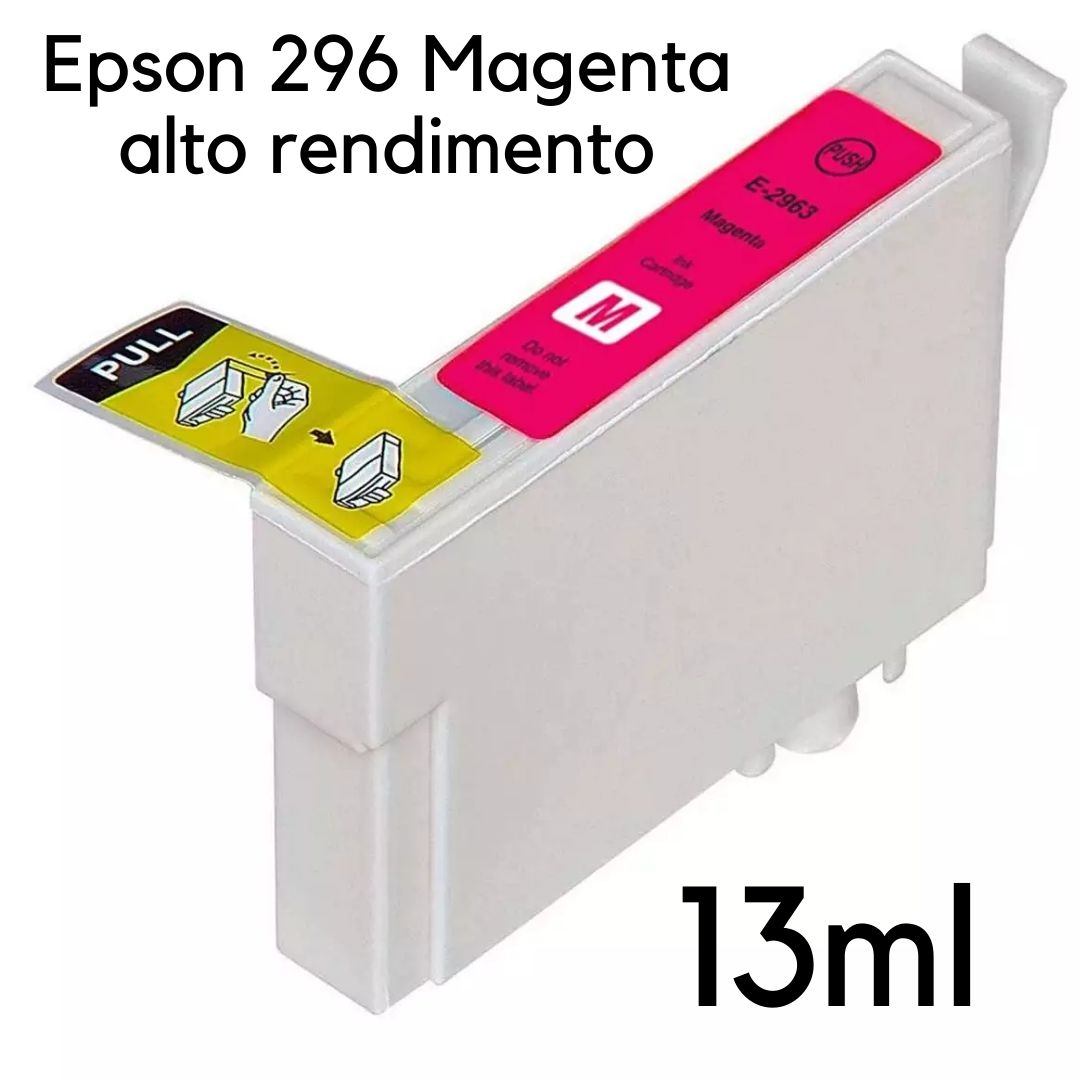 CARTUCHO EPSON MAGENTA  TO296 XP231  XP241  XP431  XP441