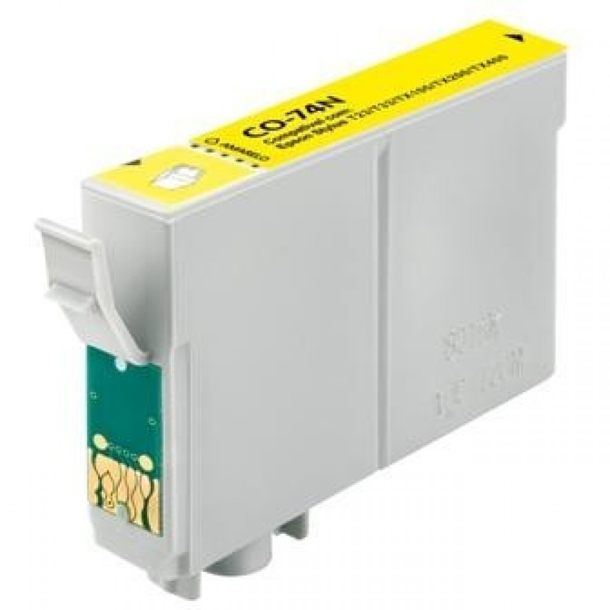 CARTUCHO EPSON TO 734N YELLOW COMP.