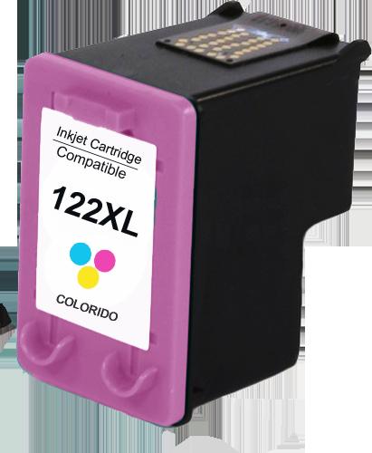 Cartucho HP 122XL 122 CH564HB Colorido 12ml COMPATÍVEL